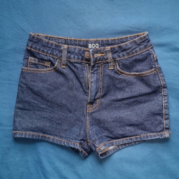 Urban Outfitters BDG high rise Erin shorts